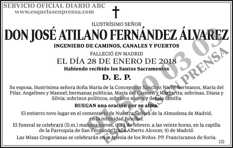 José Atilano Fernández Álvarez